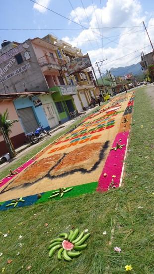 alfombras de aserrin esquipulas