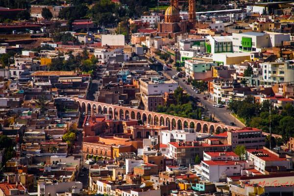 Acueducto El Cubo en Zacatecas