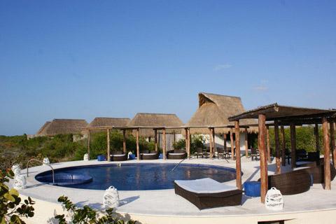 alberca hotel eco paraiso xixim celestun yucatan