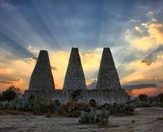 amanecer mineral de pozos guanajuato pueblo magico