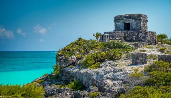 castillo ruinas mayas de tulum