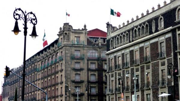 exterior hotel majestic ciudad mexico df