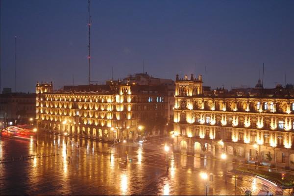fachada hotel majestic ciudad mexico df zocalo