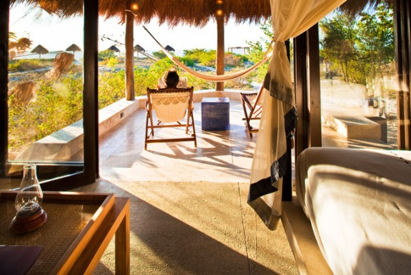 habitacion junior suite hotel eco paraiso xixim celestun yucatan
