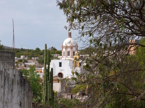 iglesia mineral de pozos guanajuato pueblo magico