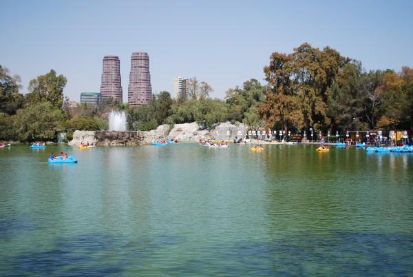 lago menor del bosque de chapultepec