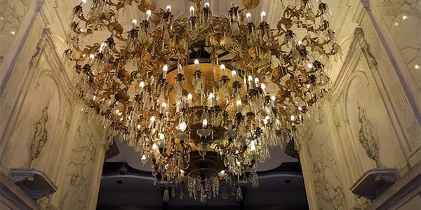 lampara gran hotel ciudad de mexico