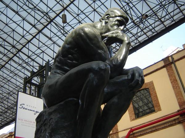pensador rodin Museo Soumaya