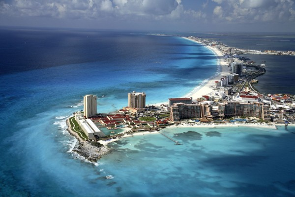 panoramica cancun yucatan