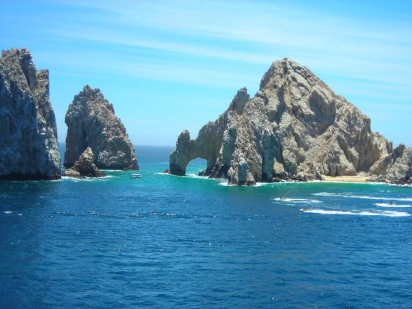 panoramica el arco Cabo San Lucas