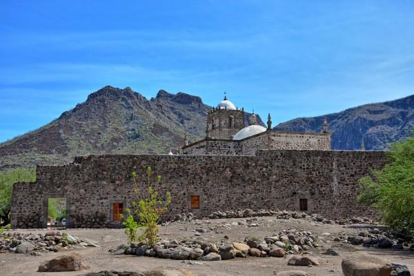 panoramica mision san francisco loreto