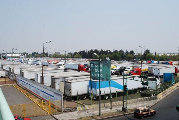 parking central abasto ciudad mexico df