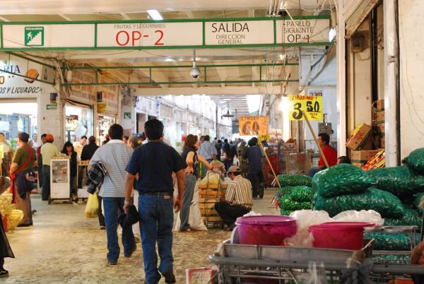 pasillo puestos central abasto ciudad mexico df