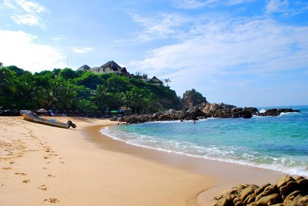 playa manzanillo puerto escondido oaxaca