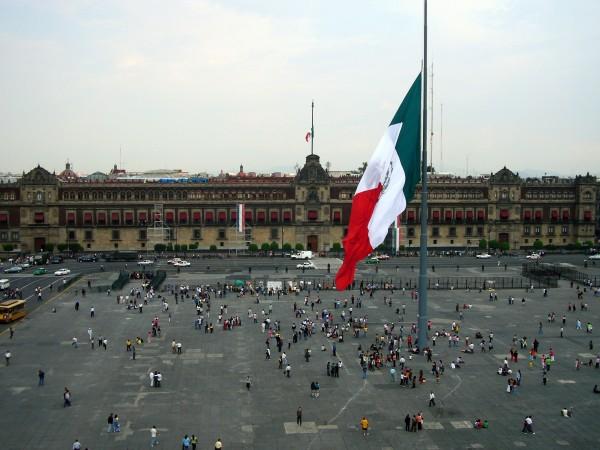 zocalo plaza de la constitucion mexico df