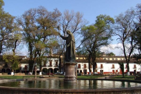 plaza quiroga patzcuaro michoacan