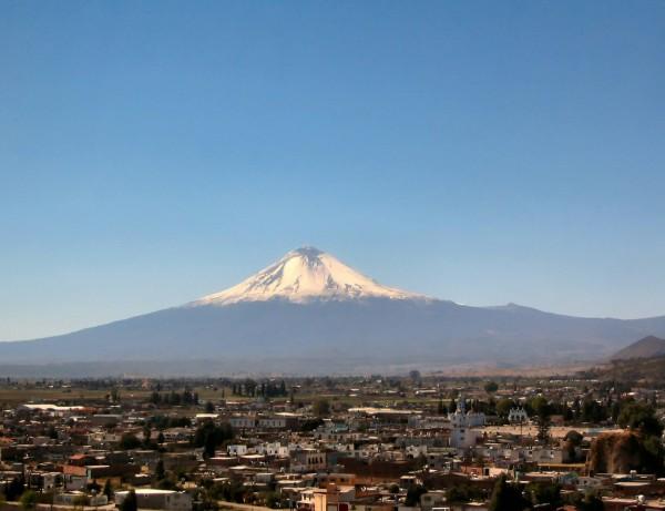 volcan popocatepetl cholula puebla