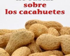 propiedades beneficios cacahuetes