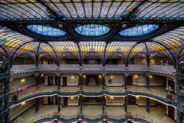 techo gran hotel ciudad de mexico
