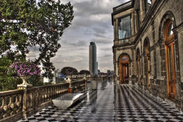Torre Mayor desde Castillo de Chapultepec