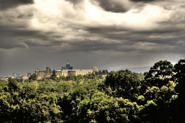 vista panoramica castillo chapultepec