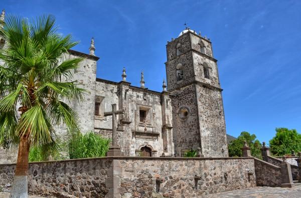 vista exterior mision san francisco loreto