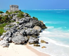 vistas playas ruinas mayas de tulum