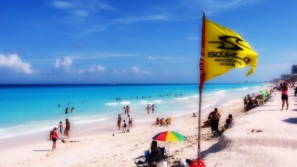 hoteles frente playa cancun
