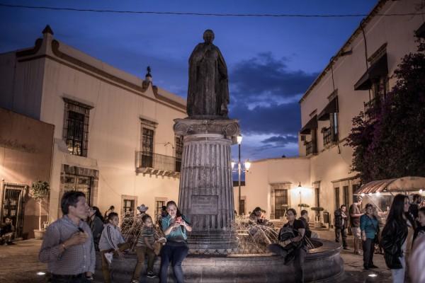 lugares turisticos  santiago de queretaro mexico