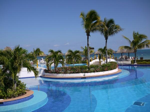 moon palace cancun piscina alberca