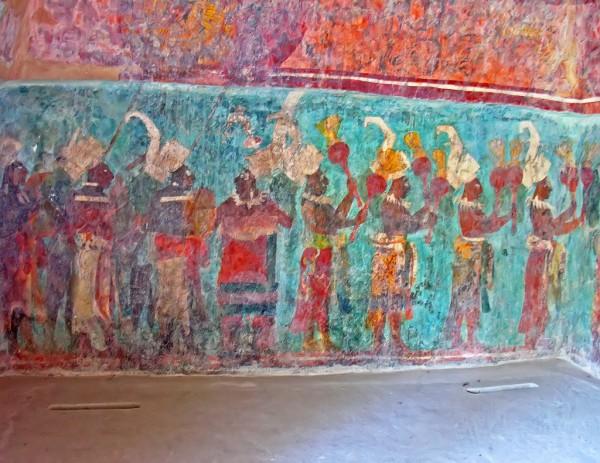 Zona arqueol gica de bonampak y yaxchil n en chiapas for El mural de bonampak
