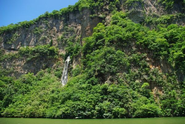 parque ecoturistico cañon del sumidero chiapas
