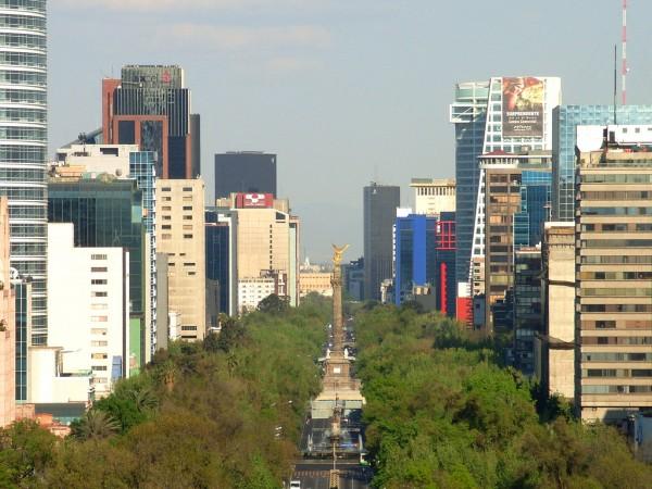 paseo de la reforma mexico df