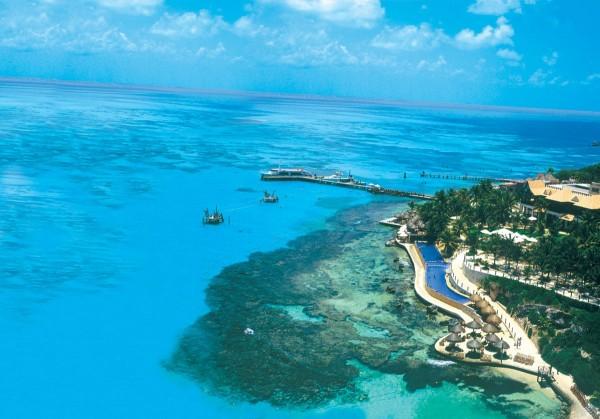 playa garrafon islas mujeres
