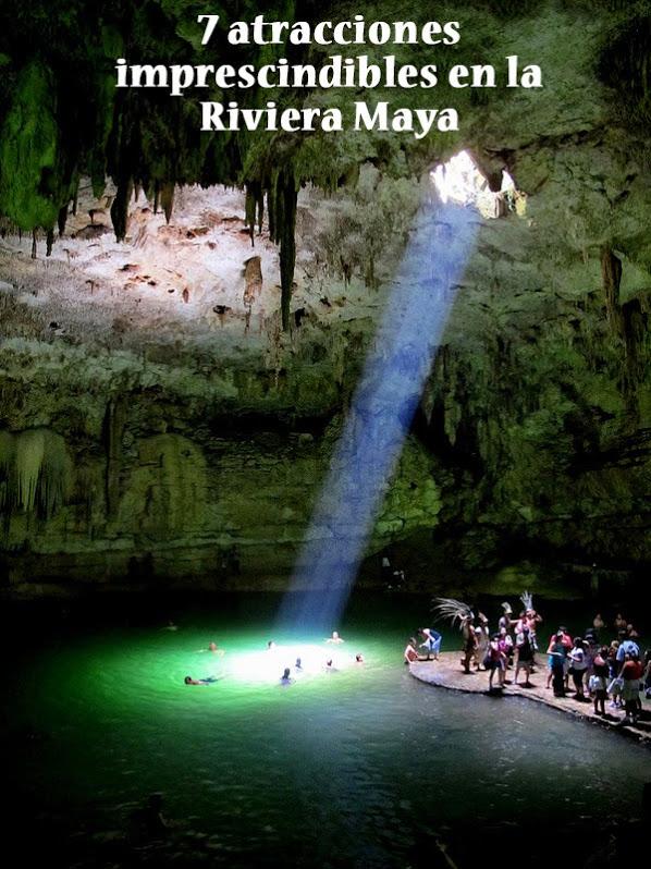 7 atracciones imprescindibles en la Riviera Maya de México