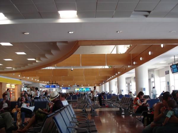 sala de espera aeropuerto de cancun