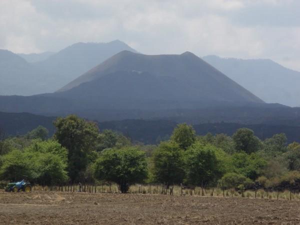 volcan paricutín en Michoacán
