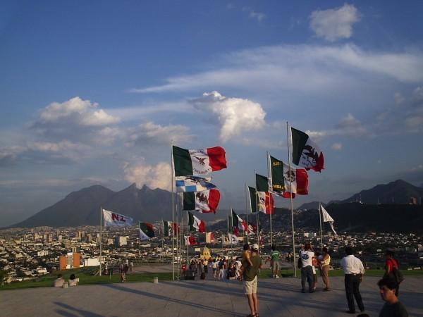 bandera de mexico historia
