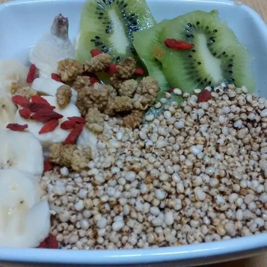 desayuno granos amaranto