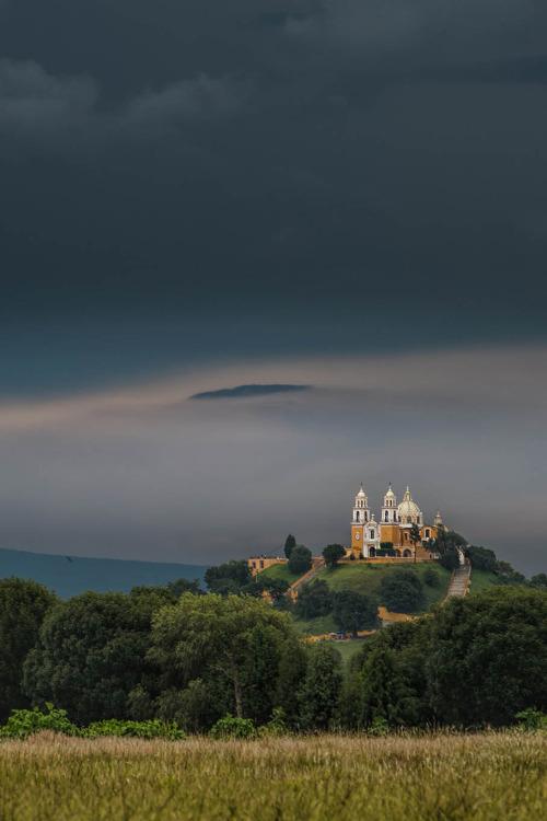 Santuario de la Virgen de los Remedios de Cholula