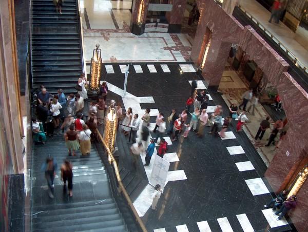 interior del palacio de bellas artes mexico