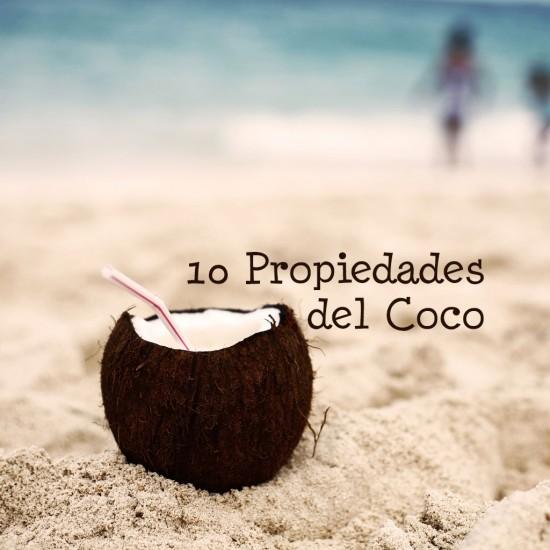 10 Propiedades del Coco