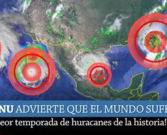 Temporada de Huracanes en México