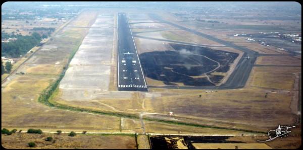 vista aera aeropuerto de guadalajara