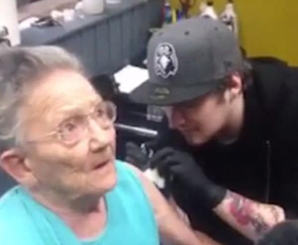 tatuaje abuela