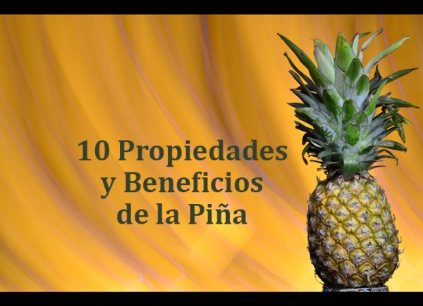 beneficios de la pina