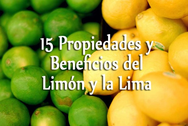 beneficios limon lima
