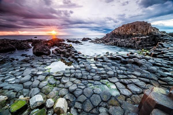 Calzada del Gigante Irlanda del Norte