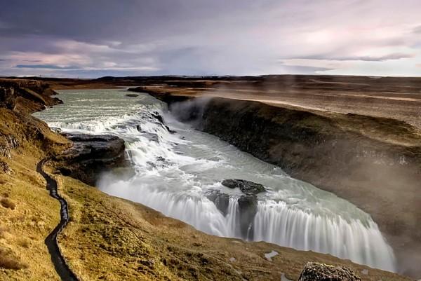 cataratas gullfoss islandia