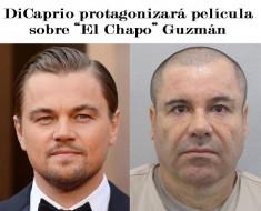 """DiCaprio protagonizará película sobre """"El Chapo"""" Guzmán"""